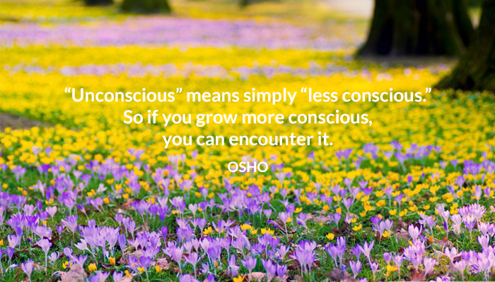 conscious encounter grow osho unconscious