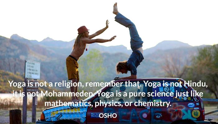 hindu mohammeden osho religion science yoga