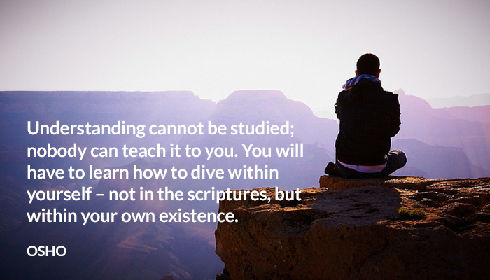dive existence learn osho studied tech understanding within yourself