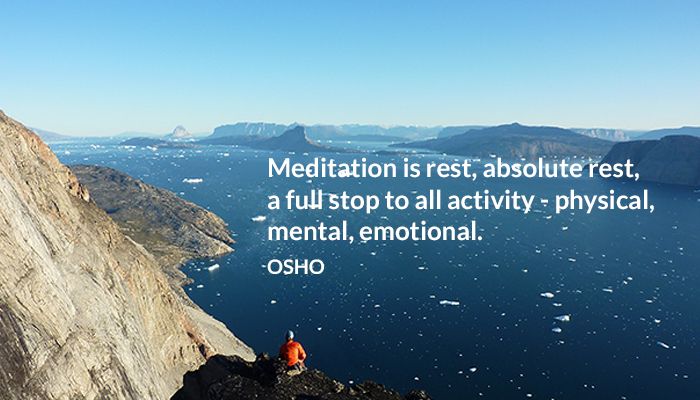 absolute activity emotional meditation metal osho physical rest