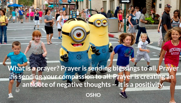 antidote blessing compassion negative osho positivity prayer thoughts
