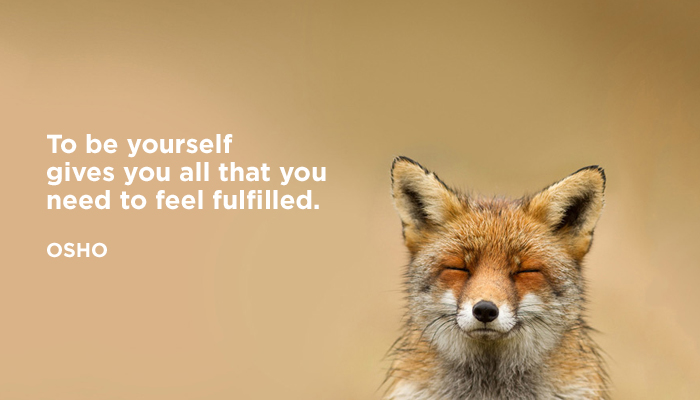 be fulfilled osho yourself