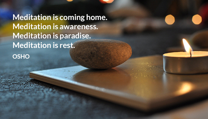awareness coming home meditation osho paradise rest