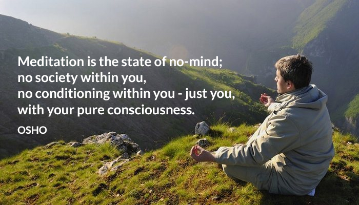 conditioning consciousness meditation no osho pure society within