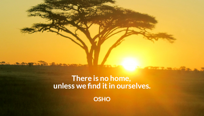 find home osho ourselves