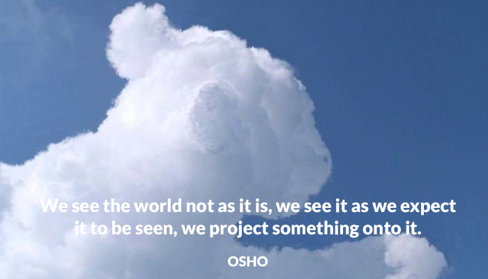 asitis expect onto osho project see world