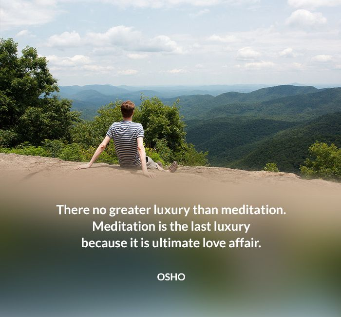 affair love luxury meditation osho quote ultimate