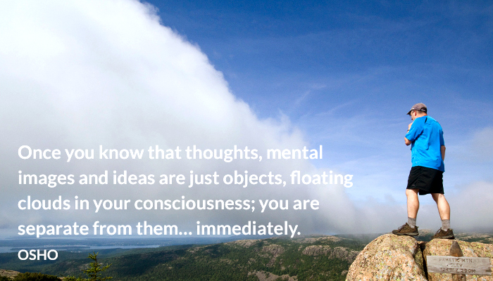 cloud consciousness idea image mental object osho thought