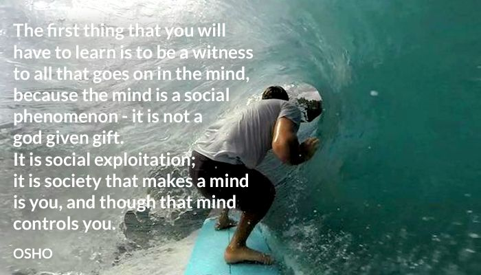 control exploitation gift god mind not osho social society witness