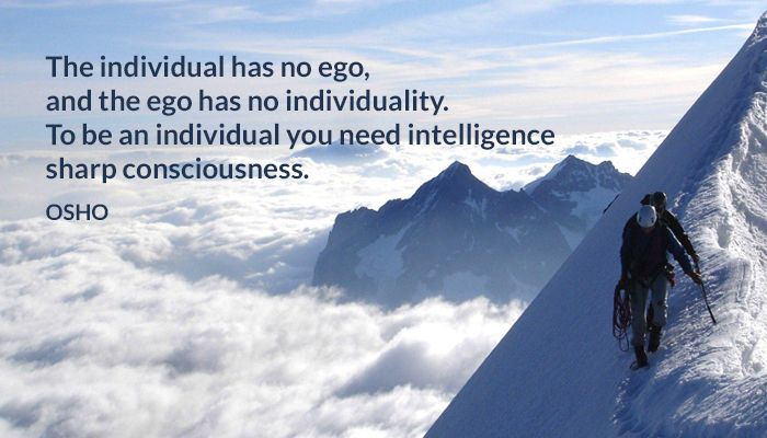 consciousness ego individual intelligence sharp