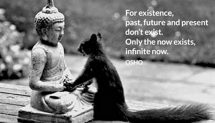 existence future infinite now osho past present