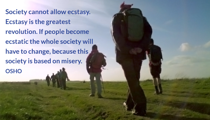 allow change ecstasy greatest osho revolution society