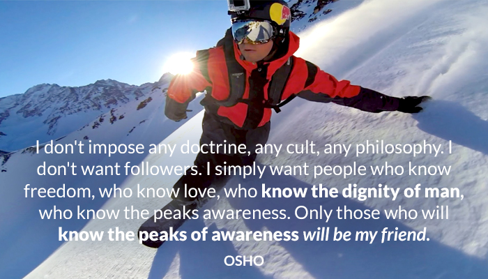 awareness cult dignity doctrine followers freedom friend know man osho philosophy