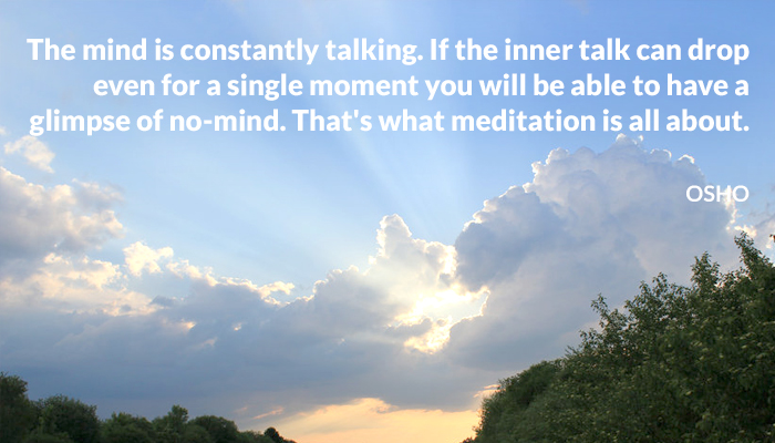 drop inner meditation mind moment nomind osho single talk talking
