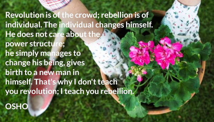 about being birth care change crowd himself individual man new power rebellion revolution structure teach