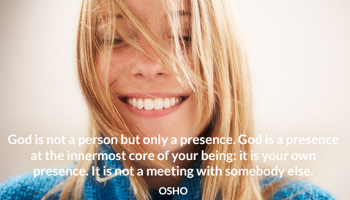 being core god innermost meeting osho own person presence