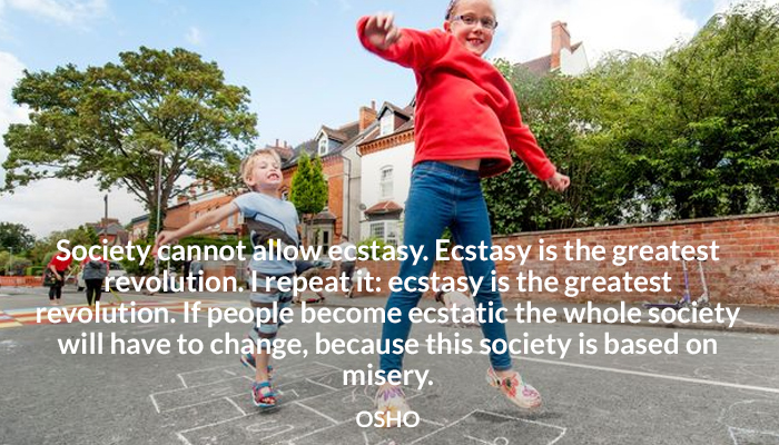 change ecstasy osho revolution society